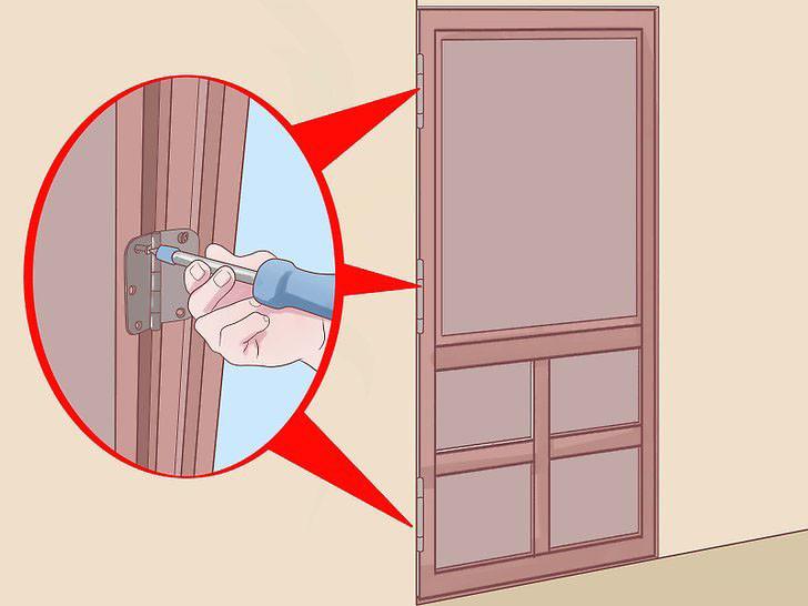 Дверь провисла что делать